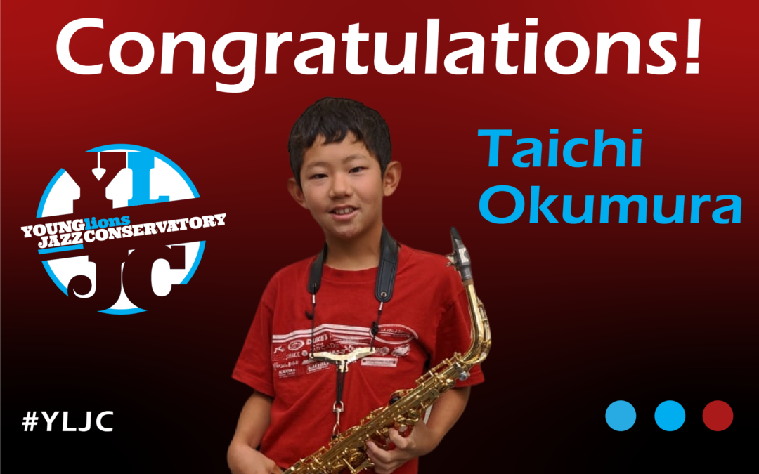 YLJC Student Taichi Okumura Wins International Golden Classical Music Award!